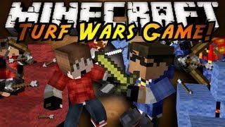Minecraft Mini-Game : TURF WARS!