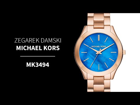 0e15ed11f64d1 Zegarownia.pl ZEGAREK DAMSKI MICHAEL KORS Kod produktu  MK3494 - Funny  Videos