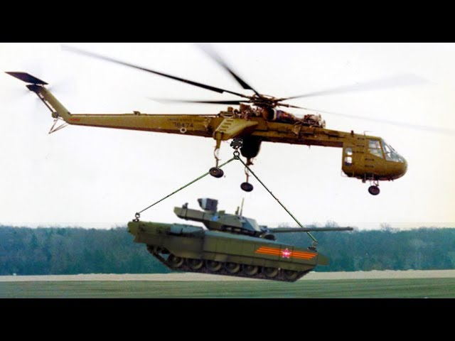 Most EXTREME And BADASS Helicopters In The World!