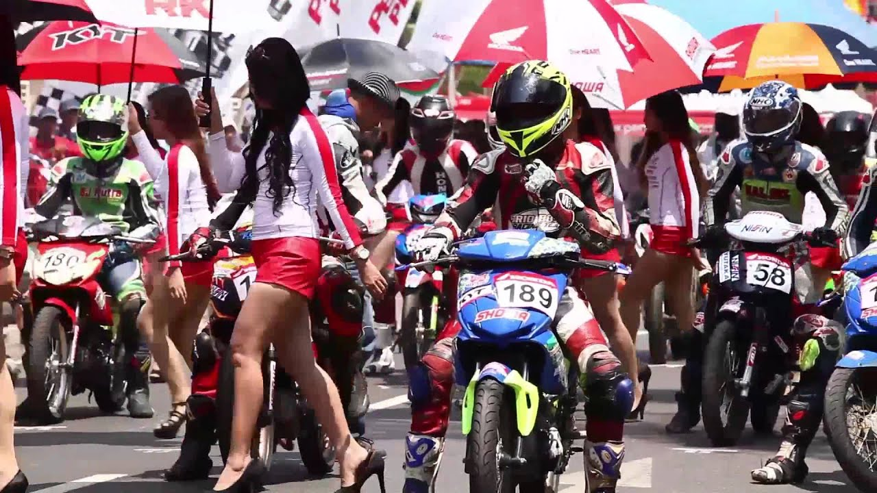 sonic balap di honda racing championship 2015 banjarbaru - youtube