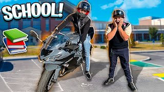 picking-up-my-little-brother-up-from-school-on-a-street-bike-zx6r-braap-vlogs