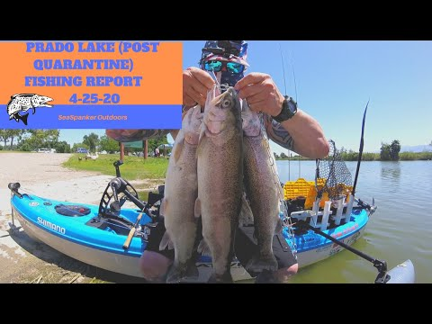 Prado Regional Park (Post Quarantine) Fishing Report 04-25-20