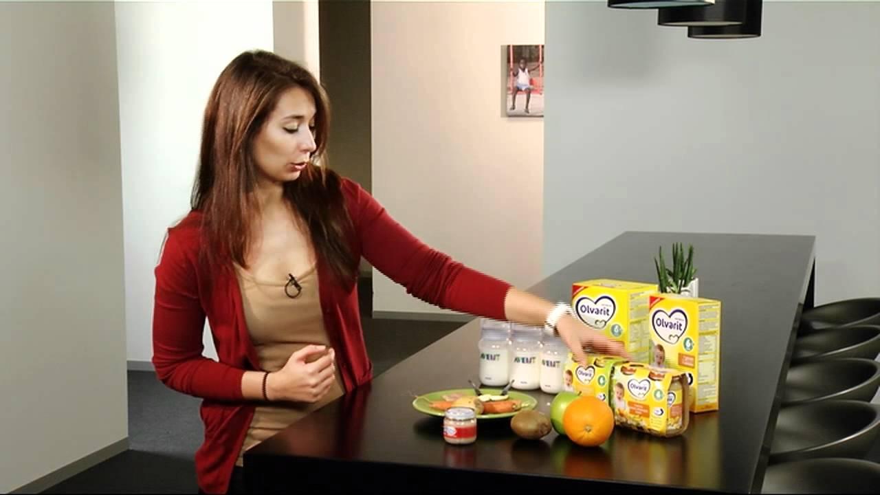 Voedingsschema Voor Babys Vanaf 6 Maanden Youtube