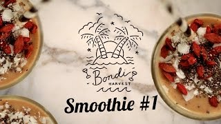 Incredible Dairy Free Date Banana And Coconut Smoothie