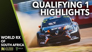Qualifying 1 Highlights | 2018 Gumtree World Rallycross of South Africa