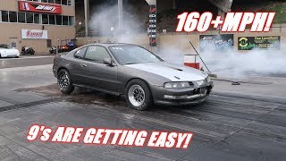 1000Hp Prelude Running 9's With Ease, Time To Go Faster!