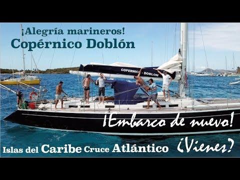 Caribe y cruce del Atlántico, ¡nuevo viaje! ¿vienes?