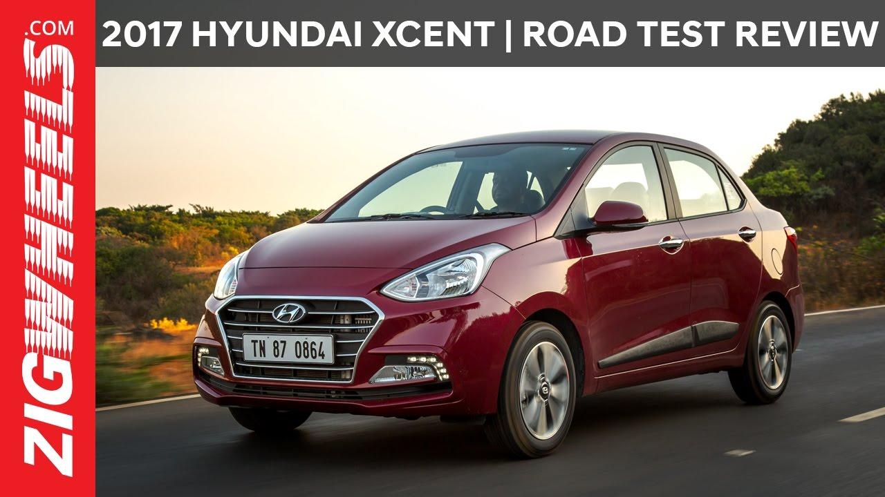 Hyundai xcent road test review zigwheelscom