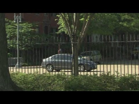 White House put on lockdown after mystery car enters grounds