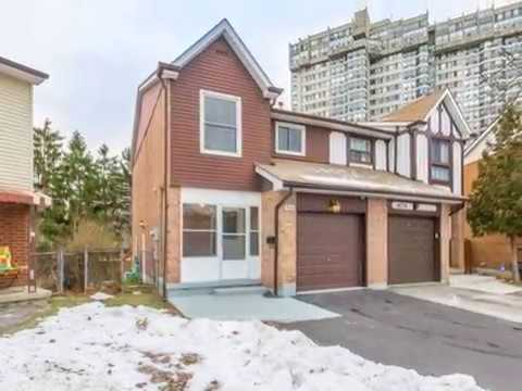 Mississauga 3 BR 4 WR Semi-Detached House For Sale
