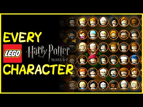 EVERY CHARACTER in LEGO Harry Potter: Years 5-7 (2011) |