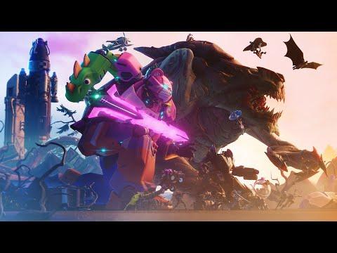 L'HISTOIRE DE FORTNITE   CHAPITRE 1 ! DE LA MTORITE  LA FIN !