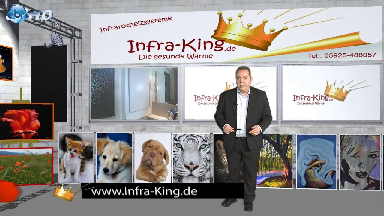 Infrarot Heizsysteme infrarotheizung für gesunde wärme infra king infrarot