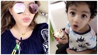 ردة فعل نهى نبيل مع ابنئها - صحيفة صدى الالكترونية