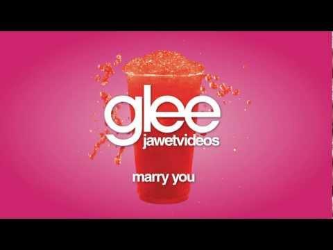 Glee Cast - Marry You (karaoke version)