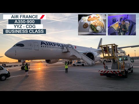 upgraded!-|-air-france-a350-900-(business-class)-|-toronto-(yyz)-to-paris-(cdg)