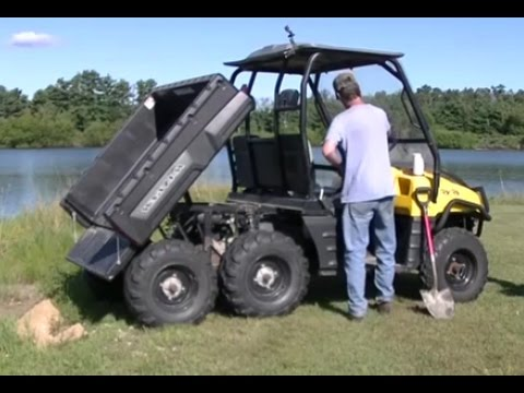 """Lifted Polaris Ranger >> 2003 Polaris Ranger 6x6 """"Electric Bed Lift Install and Test"""" - YouTube"""