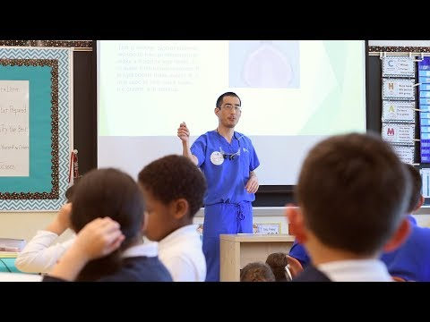 Career Day at Valley Catholic Elementary School