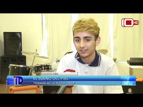 Juanfra tiene 15 años y tocó con Green Day en Vélez