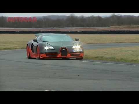 Bugatti Veyron Super Sport on the limit – www.autocar.co.uk