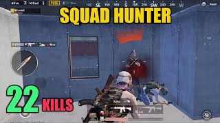 Four Squads Killed | 22 Kills Solo Vs Squad | PUBG Mobile