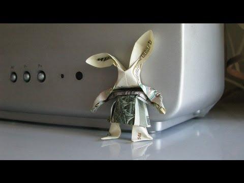 Cool Origami Hare Rabbit Yakomoga Origami Of The Dollar Money