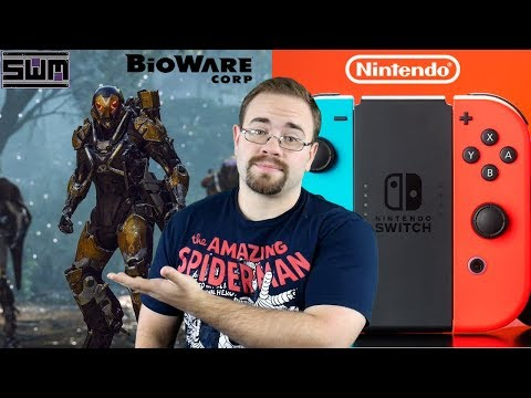 News Wave! - Big Interest At GDC For Nintendo Switch And Is Anthem Bioware's Last Chance?