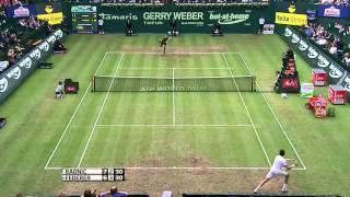ATP Halle 2012 - Federer vs Raonic QF (HD)