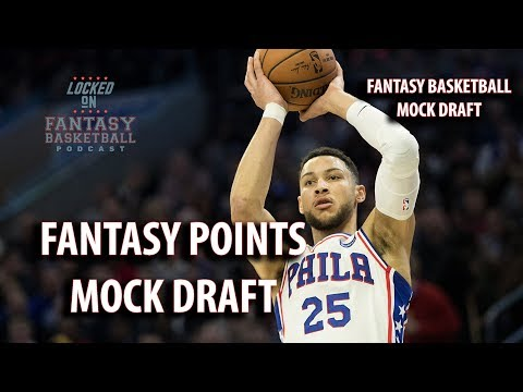 Fantasy Basketball Mock Draft | Watch Along With A Points League Draft