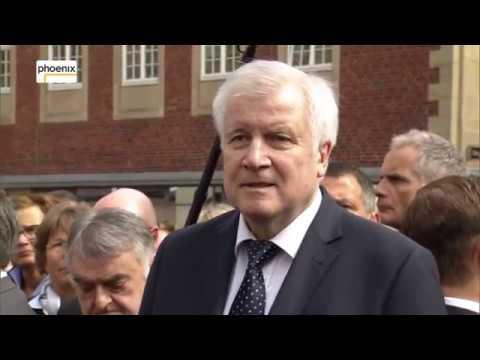 Statement von Bundesinnenminister Horst Seehofer zur Amokfahrt in Münster am 08.04.18