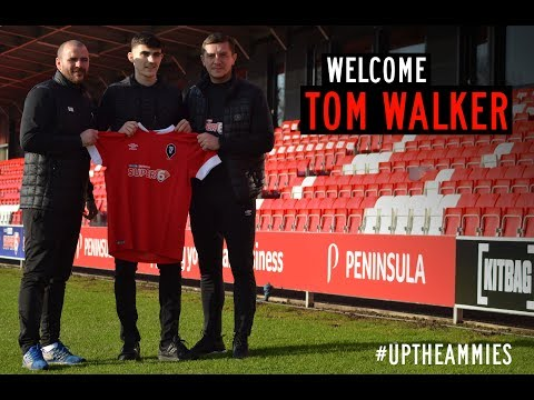 NEW SIGNING | Tom Walker signs for Salford City!
