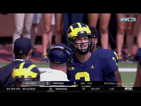 Air Force at Michigan - Football Highlights