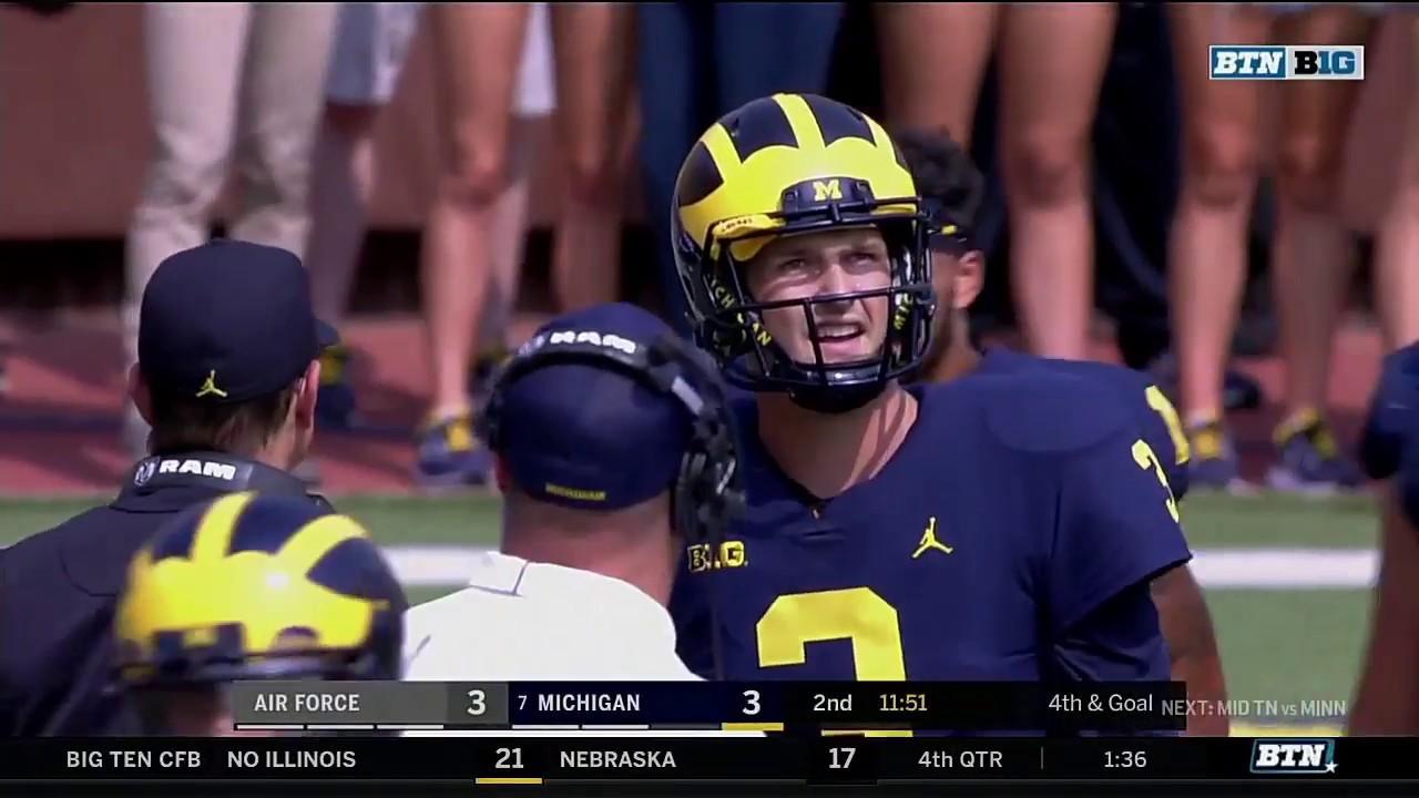 Air Force at Michigan - Football Highlights - YouTube