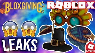 [BONUS-LEAK] ROBLOX EARLY THANKSGIVING ITEM | Leaks and Prediction