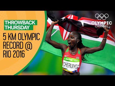 Vivian Cheruiyot breaks the 5,000m Olympic record at Rio 2016 | Throwback Thursday
