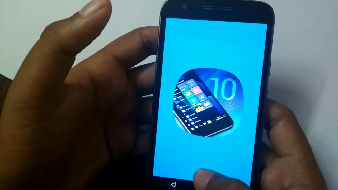 how to install windows 10 on android phone without pc