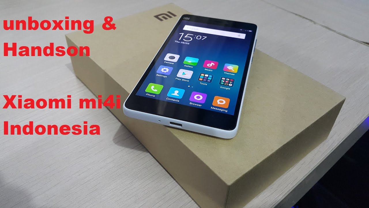 Unboxing Hands Review Xiaomi Mi4i White 16gb Indonesia