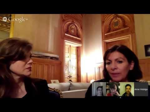 Hangout avec la Maire de Paris & Aufeminin.com