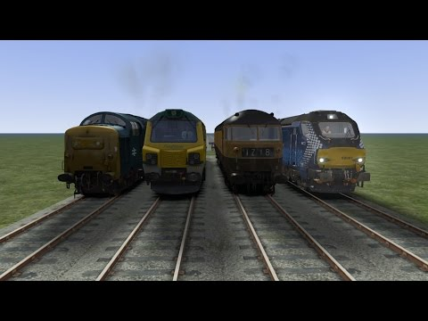 Train Simulator Diesel Races No1 |
