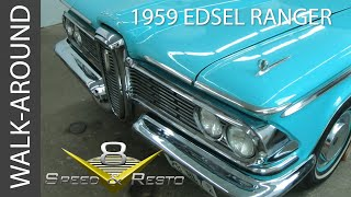 1959 Edsel Ranger Walk Around Video at V8 Speed and Resto Shop V8TV