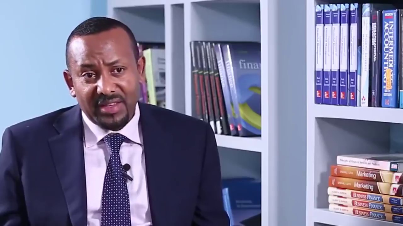 "Dr. Abiy Ahmed - ""The newly elected Ethiopian Prime Minister is a plagiarist."""