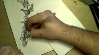 ♦ Zooc Draws - Ork Warboss