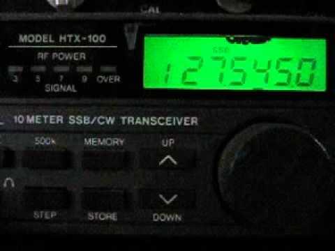 Short QSO with 266 Div. Eastern Kirabati. 266rc005 Ali & 10mex100 Elmer