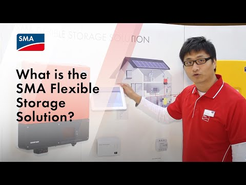 What is the SMA Flexible Storage Solution?