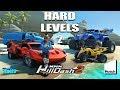 MMX Hill Dash 2 - Hard and Fun Levels #2