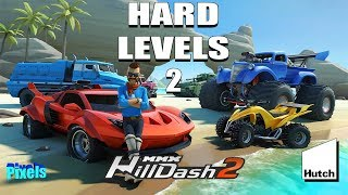 MMX Hill Dash 2 - Hard and Fun Levels #2