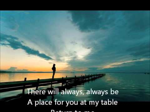 At The table, By Josh Garrels