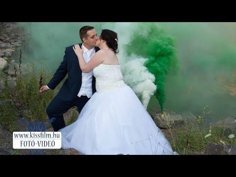 Melinda és József esküvője Kemecsén és Debrecenben