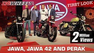Jawa, Jawa 42 and Jawa Perak (Bobber) | First Look | ZigWheels.com