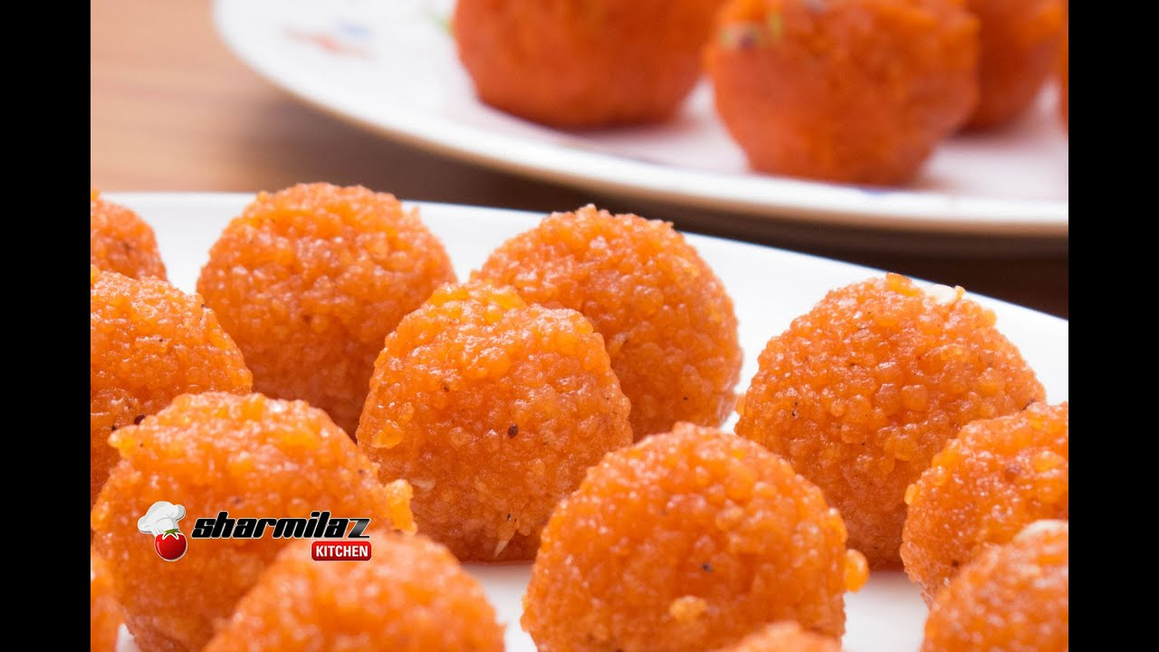 Perfect motichur laddu recipe halwai style indian popular sweet perfect motichur laddu recipe halwai style indian popular sweet sharmilazkitchen youtube forumfinder Image collections